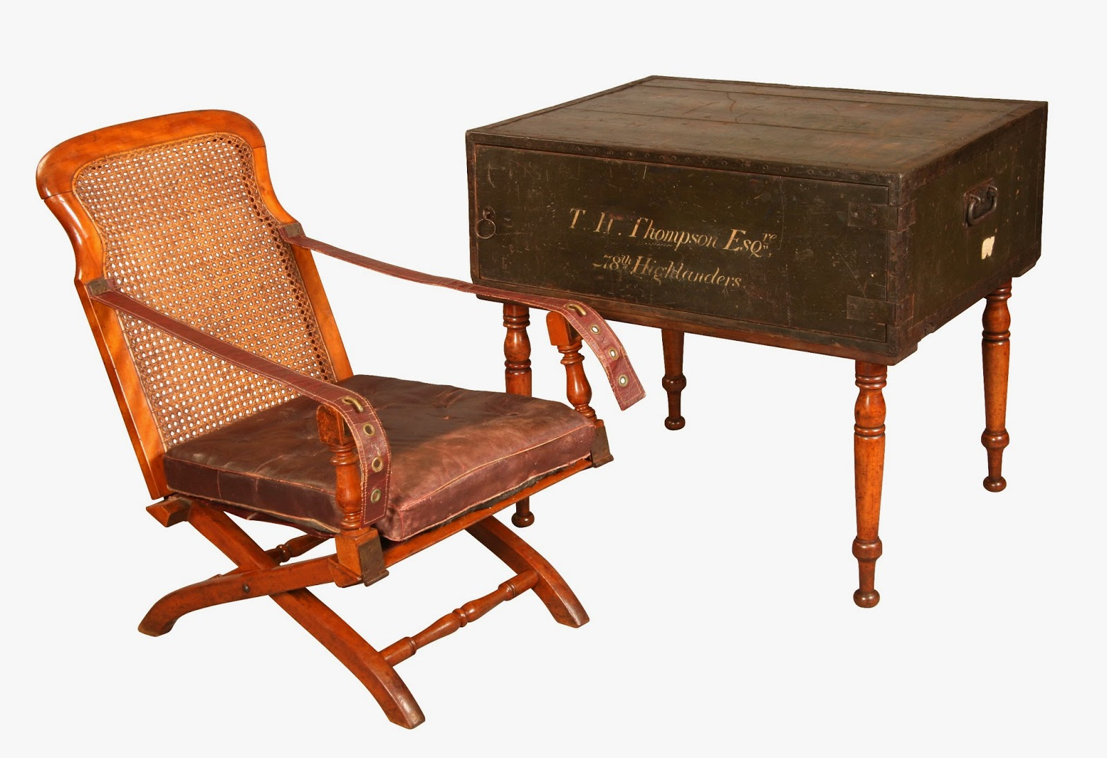 Christopher Clarke Antiques Blog Proof That Campaign Furniture