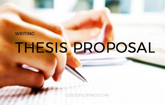 Tips On Writing Thesis Proposal