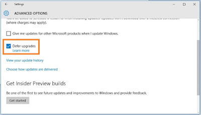 Cara Disable Update Windows 10