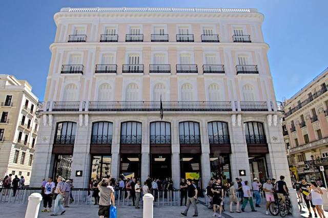 Apple Puerta del Sol em Madri