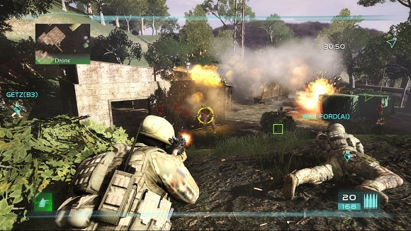 Tom Clancys Ghost Recon Advanced Warfighter 2 PC Full Version Screenshot 1