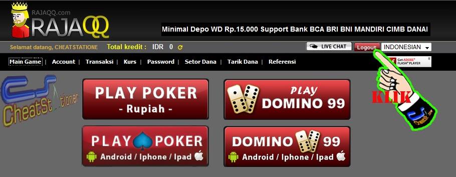 Daftar RAJAQQ* Domino dan Poker Online Uang Asli