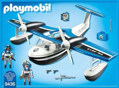 Toys - PLAYMOBIL Action 9436 Hidroavión de la policía  Producto Oficial 2018   Edad: +4 años  COMPRAR ESTE JUGUETE