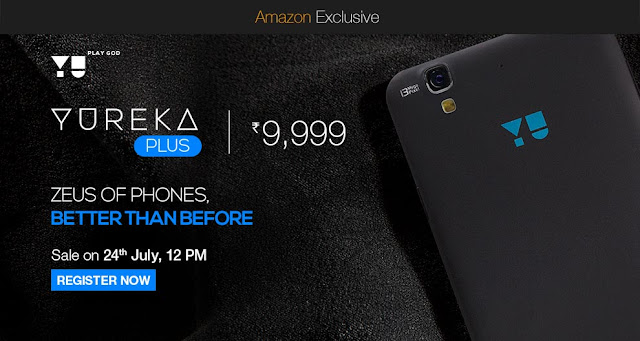 YU launches Yureka Plus Smartphone
