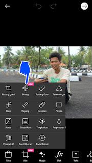Cara menghapus background foto