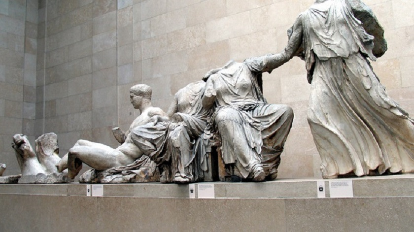 United Kingdom: So-called 'radical left' gov't of Greece will not legally pursue return of Parthenon sculptures