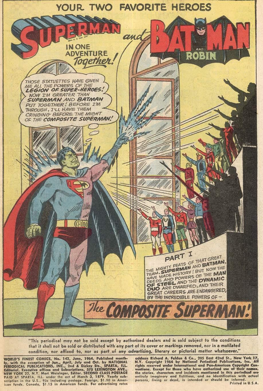 Read online World's Finest Comics comic -  Issue #142 - 3
