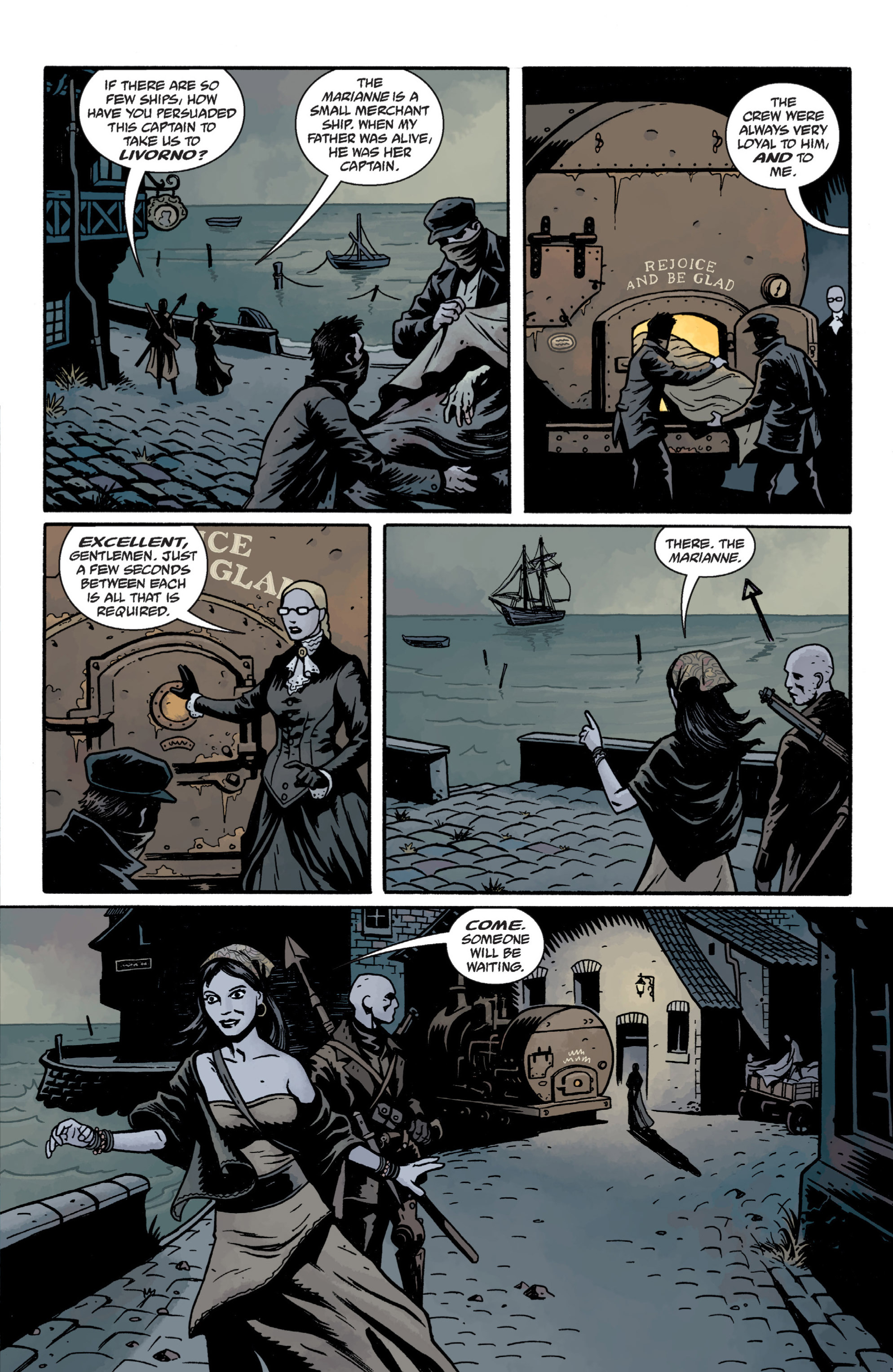 Read online Baltimore: The Plague Ships comic -  Issue # TPB - 37