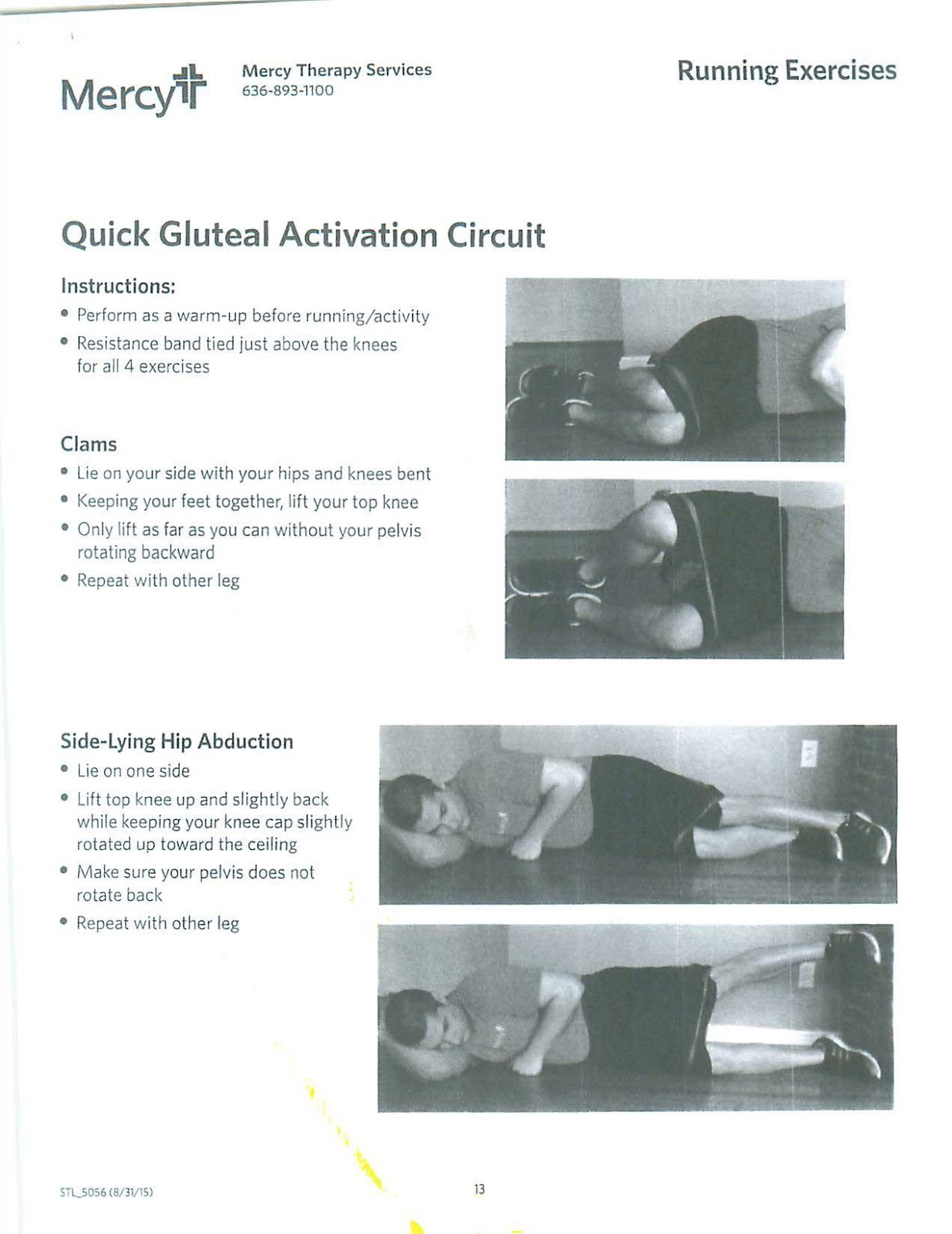 Will Run For A Medal: #WellnessWednesday - Hip and Glute