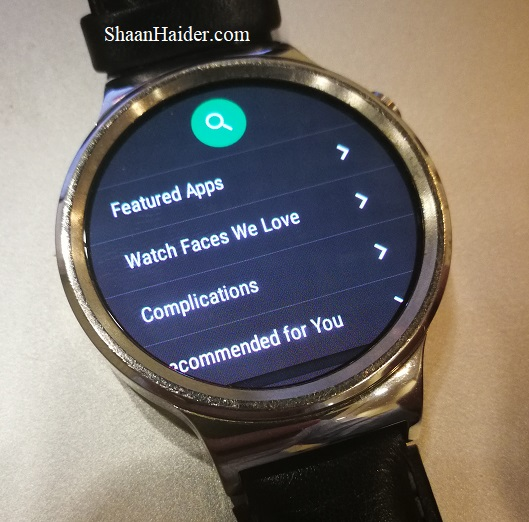 Huawei Watch Android Wear 2.0 Update Review