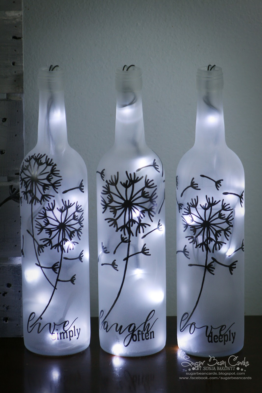 171743553874 also How To Build A Glass Bottle Chandelier further Ch agne Bottle Sparklers likewise Diy L e Flasche Selbermachen furthermore 299207968967421136. on led liquor bottles