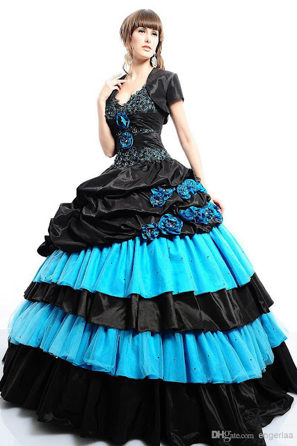 vestidos de xv años desmontables con cola
