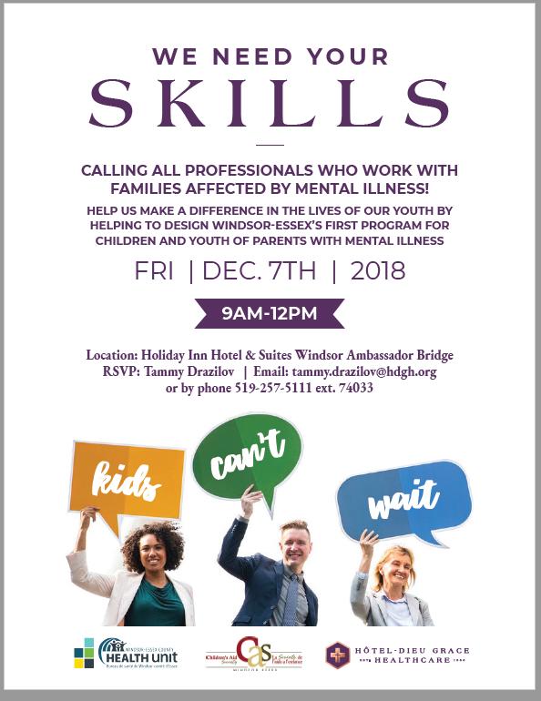 St Anthony School News Mental Health Information