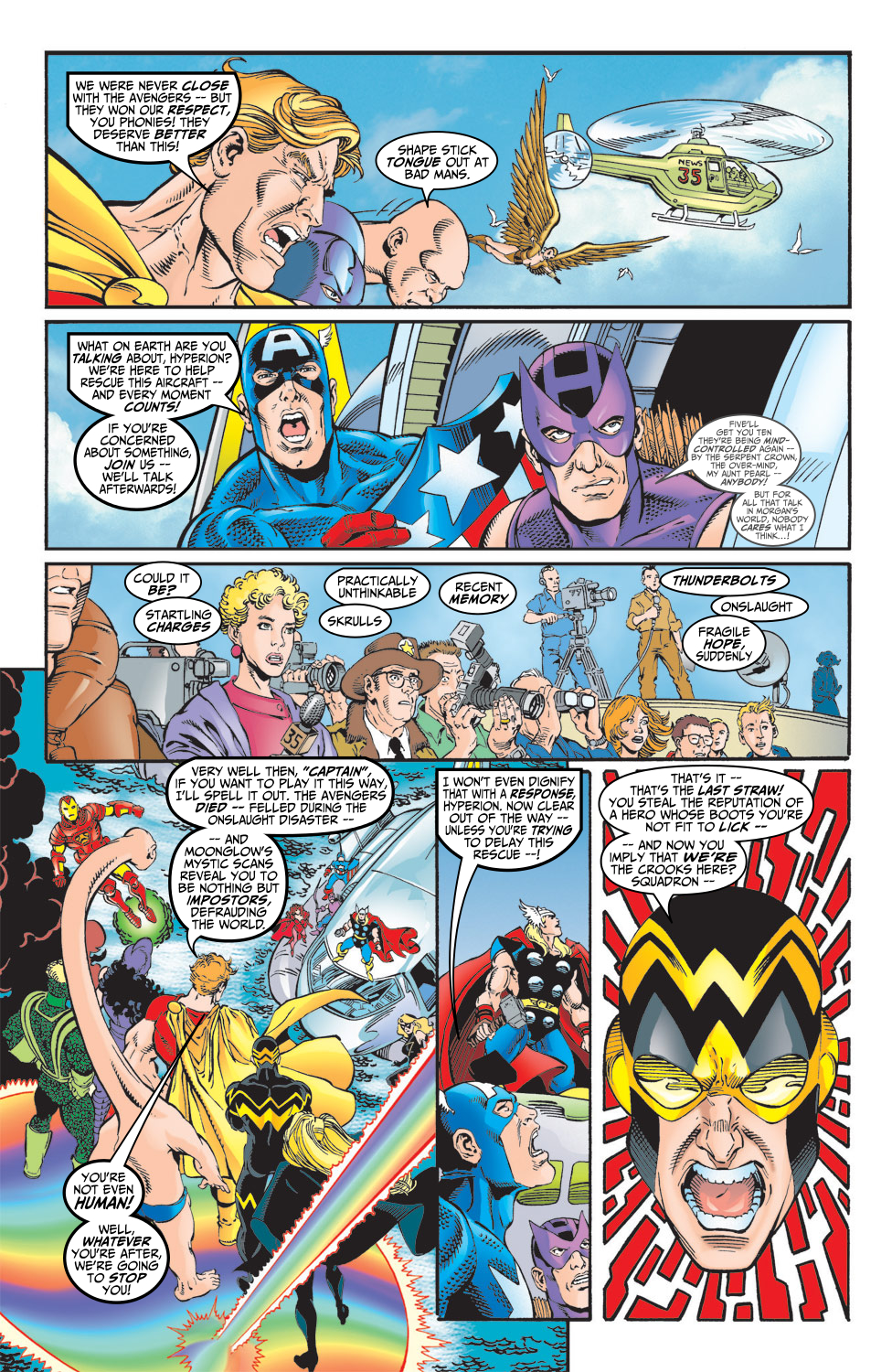 Read online Avengers (1998) comic -  Issue #5 - 12