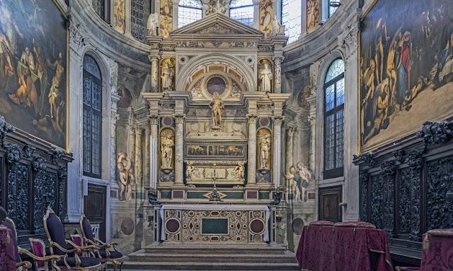Sobre a Igreja de São Roque em Veneza