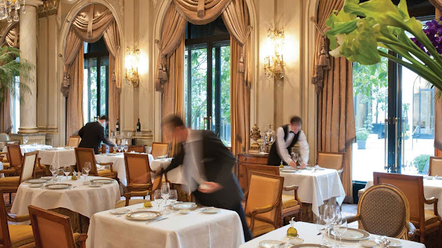 Le Cinq at Four Seasons Hotel George V awarded Third Michelin Star