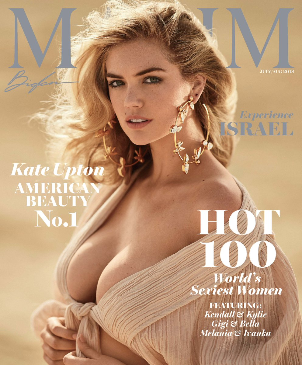 Kate Upton scores top spot of Maxim Hot 100 list for 2018