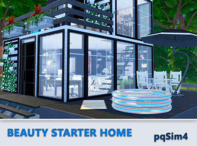 Beauty Starter Home. Exterior 3