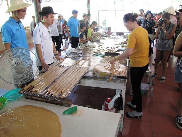 cocunut candy factory mekong delta vietnam