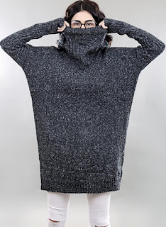 Chunky Knit baggy pullover