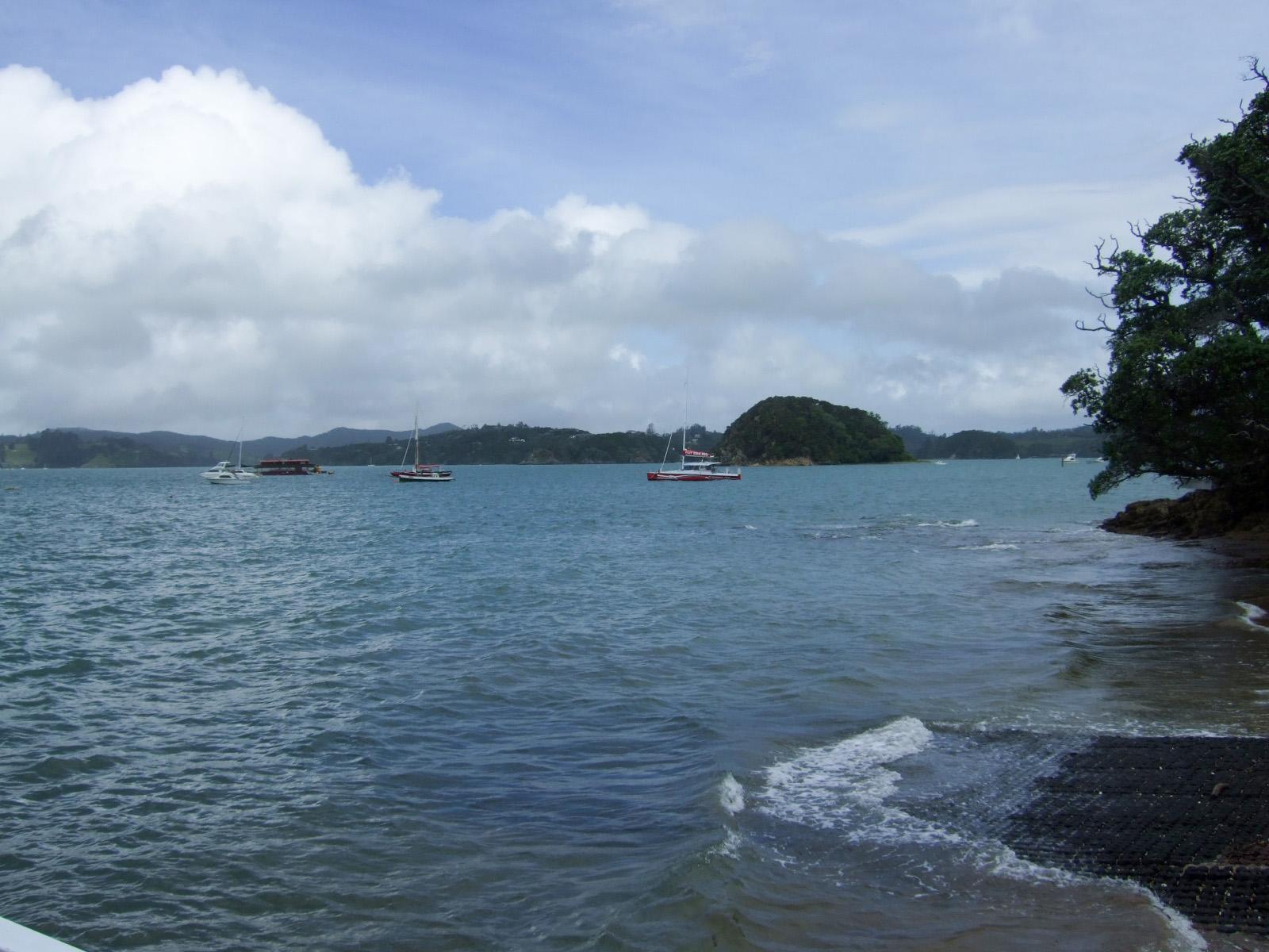 海,ヨット,空,入道雲〈著作権フリー無料画像〉Free Stock Photos