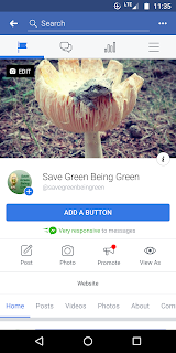 https://www.facebook.com/savegreenbeingreen/