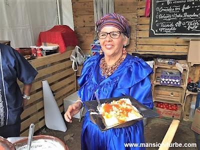 Victoria González, Maestra Cocinera Tradicional de Michoacán en Comali, Festival de la Cocina Mexicana