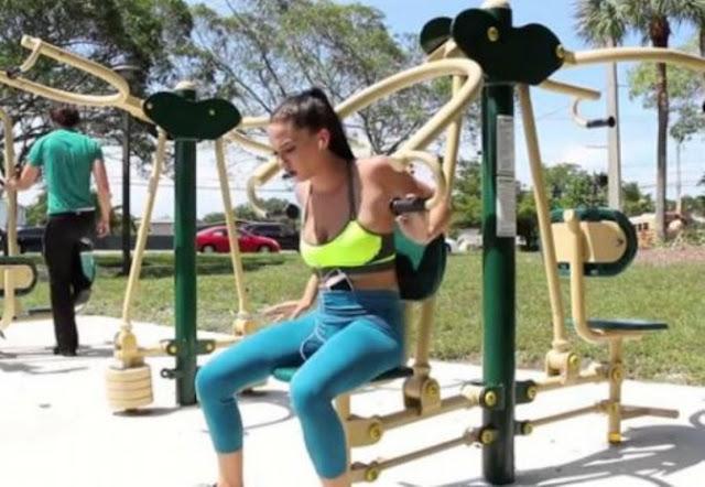 Πιο αδύνατοι όσοι μένουν κοντά σε χώρους άσκησης και μακριά από φαστ φουντ