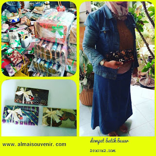 souvenir jogja dompet batik besar