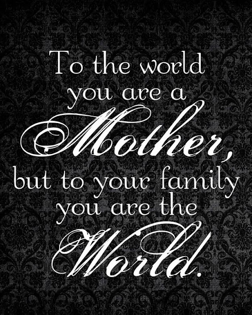 Beautiful lines on mother's day