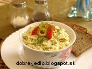 Grécka nátierka s olivami - recept
