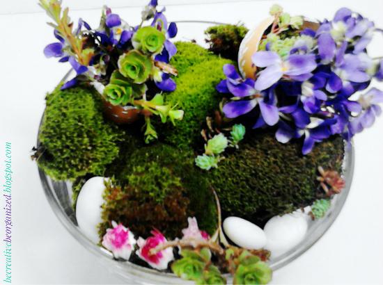 Prolećni/Uskršnji cvetni aranžman