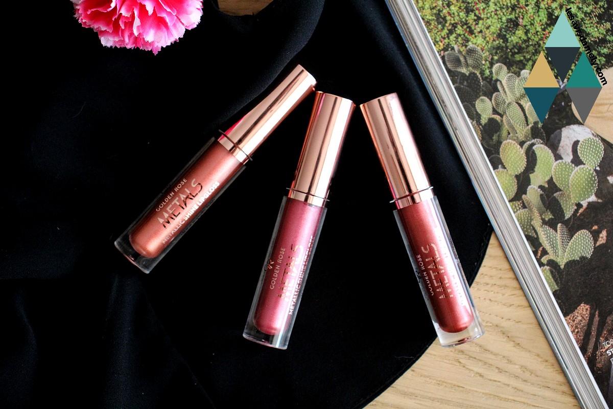 avis revue beauté rouges à lèvres métalliques brillants metals cookies makeup