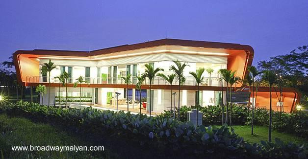 Casa residencial vanguardista en Malasia