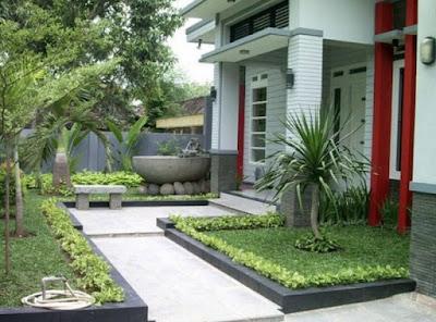 Minimalist House Garden Design