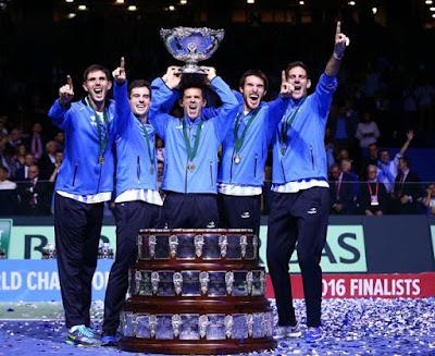 TENIS - Copa Davis 2016: Argentina conquista su primer título con una tremenda remontada