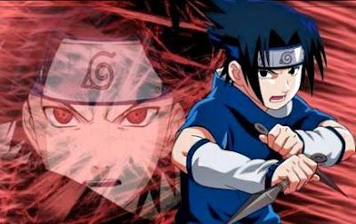 Dibujo de Sasuke Uchiha a colores