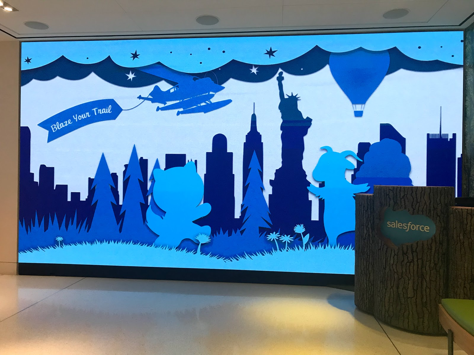 Tigh Loughhead at Salesforce Tower in New York City