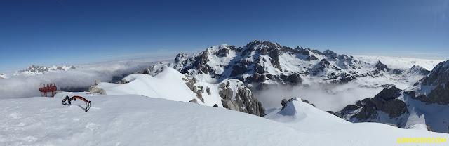 fernando calvo guia de alta montaña uiagm , escaladas y alpinismo Friero naranjo de bulnes