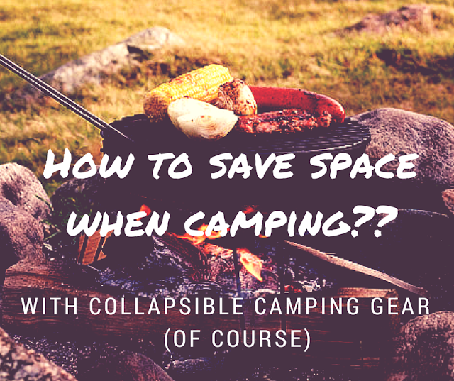 collapsible camping gear