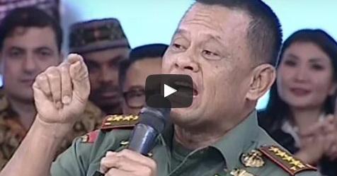 VIDEO: Terkait Banyaknya Dukungan Untuk Menjadi Presiden, Begini Jawaban Panglima TNI