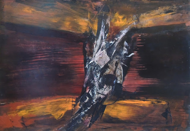 Manuel Viola pintura abstracta toros