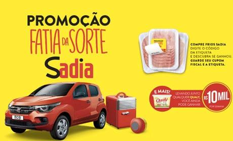 Promoção Sadia - Fiat da Sorte