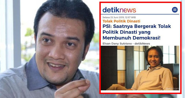 Pengamat: Pernyataan PSI Tolak Oligarki Politik Dinasti Bualan Belaka!