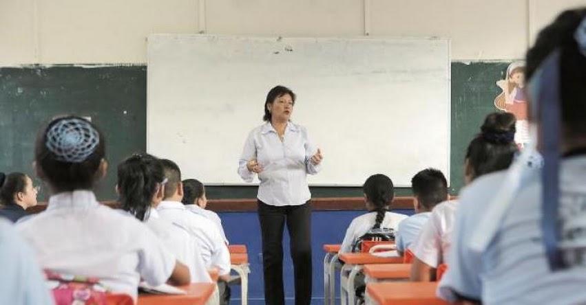 MINEDU plantea nombrar a unos 35 mil docentes en una nueva convocatoria entre marzo y abril de 2018 - www.minedu.gob.pe