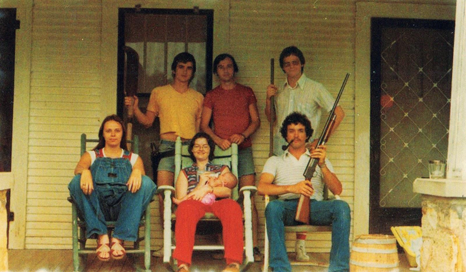 18 Awkward Family Studio Portraits of the 1980s  vintage