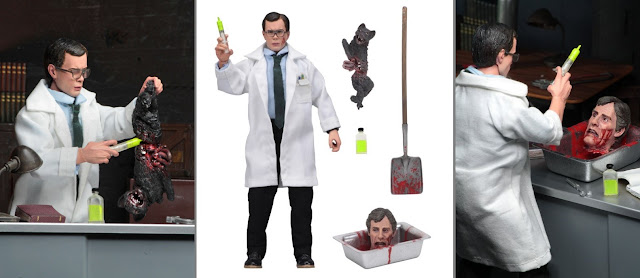 Re-Animator retro-style action figure set [Neca]