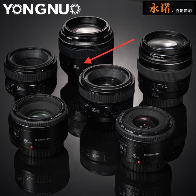 Объективы Yongnuo для зеркальных камер