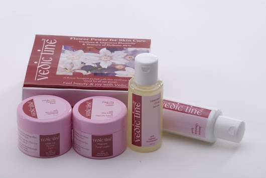 Renew The Glow and Glimmer with Vedic Line Organic Facial Kits