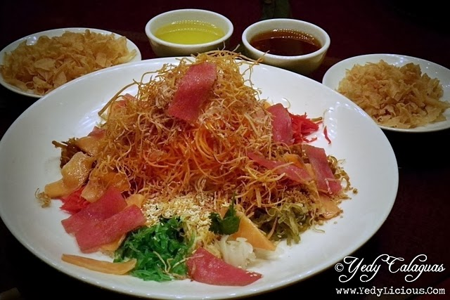 Xin Tian Di Chinese Restaurant of Crowne Plaza Hotel Manila Galleria Celebrates Chinese New Year with Yu Sheng Salad Prosperity Toss